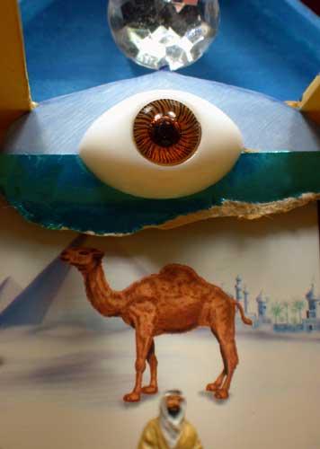 Visionary Art, Mars Tokyo. The Arab, outsider
