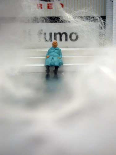 Visionary Art of Mars Tokyo, the smoker